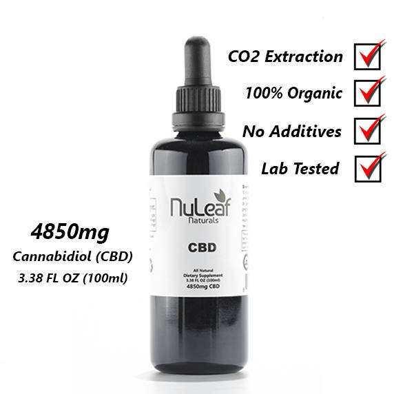4850 mg full spectrum CBD oil