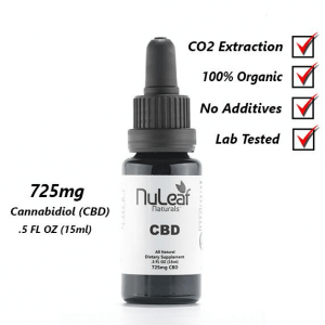 725 mg full spectrum CBD oil