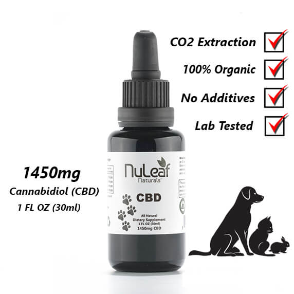 1450mg full spectrum CBD oil for pets