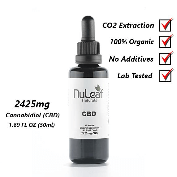 2425mg of Full Spectrum CBD Oil