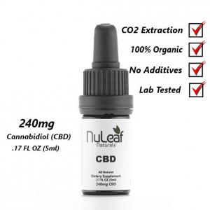 240mg Full Spectrum CBD Oil