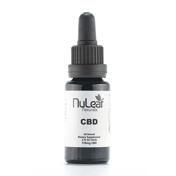 725mg full spectrum CBD oil