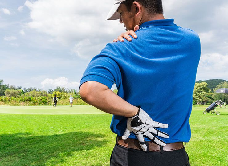 CBD oil for golfing recovery