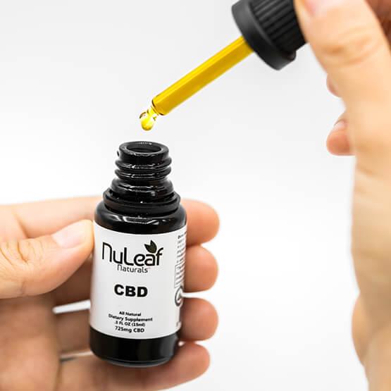 Buy full spectrum CBD oil online with NuLeaf