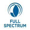 Full spectrum blue icon