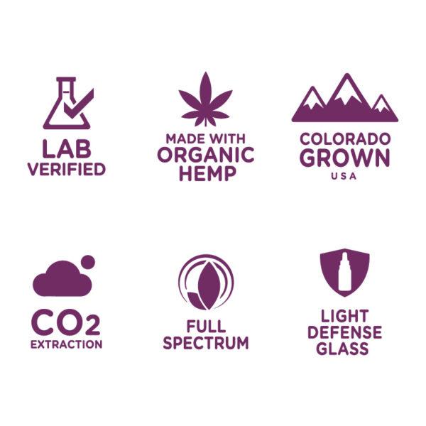 NuLeaf Naurals purple icons