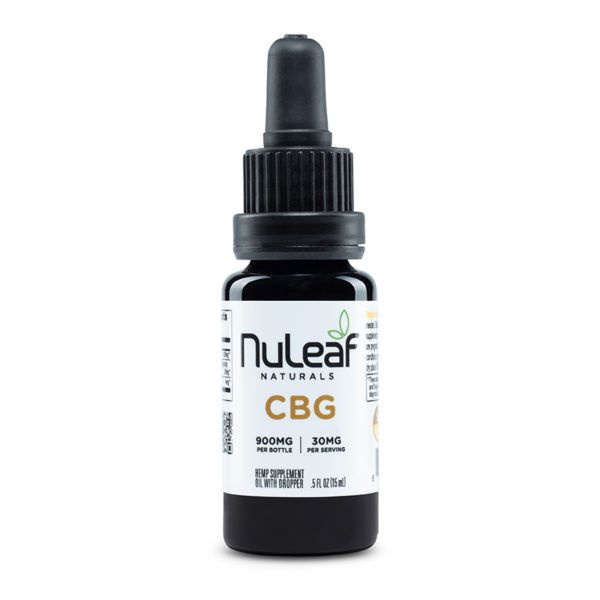 900mg 15ml CBG Oil Human
