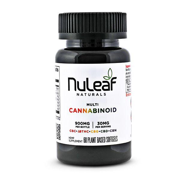 900mg Multicannabinoid Softgels
